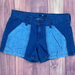 7 For All Mankind Shorts Sz 28